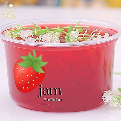 [Sale] Strawberry Jam - Mứt Dâu