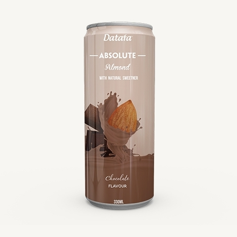 Almond Nuts Milk with Chocolate Flavour