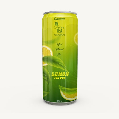 Green Tea drink with Lemon