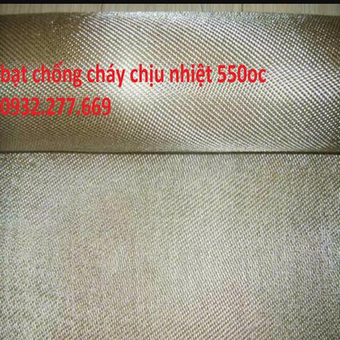 Bạt chống cháy chịu nhiệt độ 550oc HT800 - liên hệ0932.277.669
