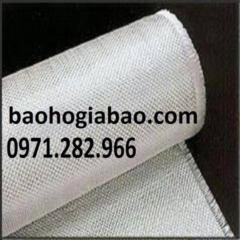 Bạt chống cháy sợi thủy tinh màu trắng BA008