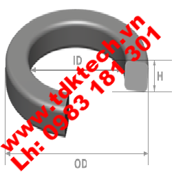 Square ring seal