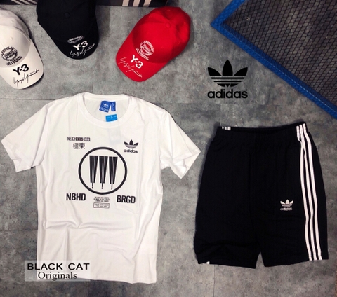 Adidass Neighborhood Logo Tee CD7733