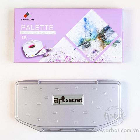 Palette mini 16 ô Art Secret