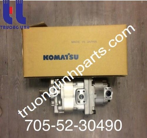 hydraulic gear pump 705-52-30490 Komatsu Wheel LoaderWA500-3