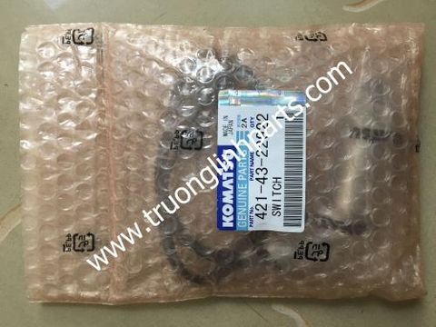 Switch for  wheel loader spare parts Komatsu WA380-3