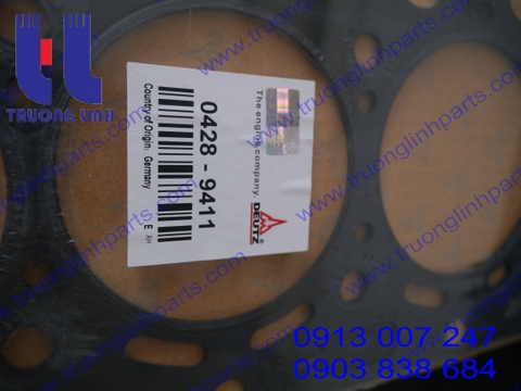 Gasket 0428-9411- Deutz BF4M2012 - wheel loader spare parts