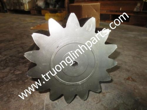 SHAFT, 15 TEETH - SWING MACHINERY 20Y-26-21141 FOR komatsu PC200-6 Excavator