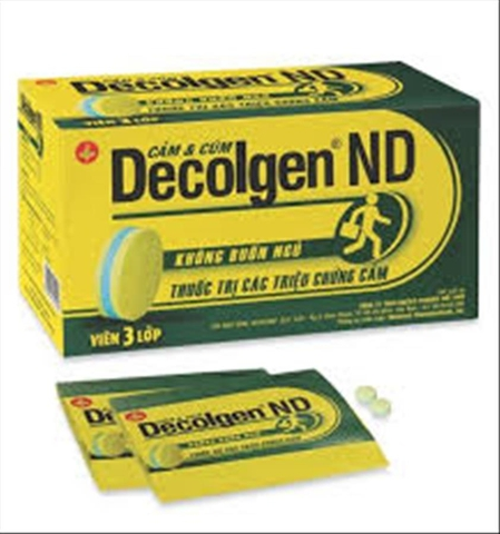 Decolgen ND H/25x4 viên