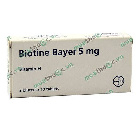 Biotine Bayer 5mg