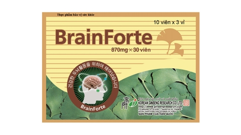 BrainForte 870mg x 30 viên