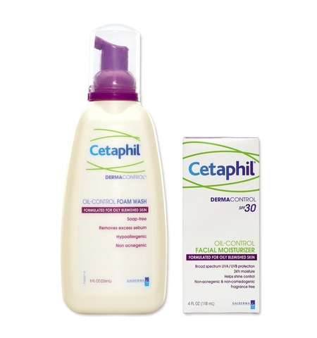 Cetaphil Derm oil control facial moist