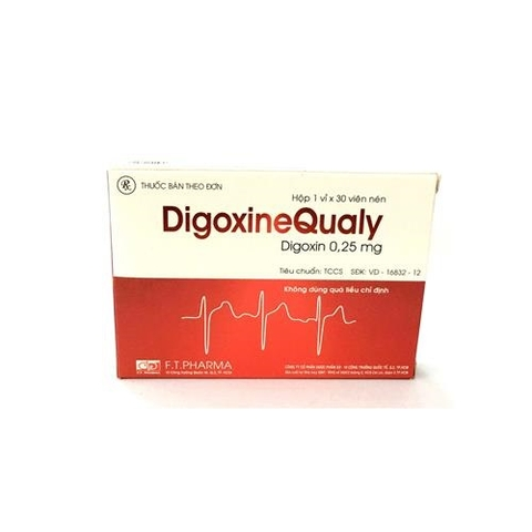 Digoxine Qualy 0,25mg