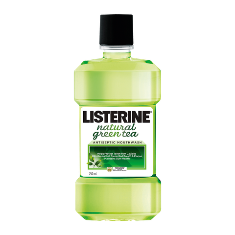 Listerine natural green tea 250ml