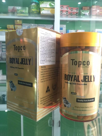 Royal jelly lọ 365 viên