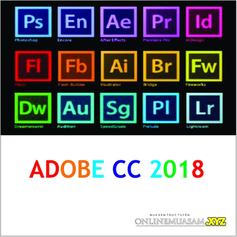 Trọn bộ DVD Adobe Master Collection Creative Cloud CC 2018