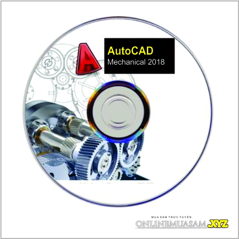 Bộ DVD AutoCAD Mechanical 2018