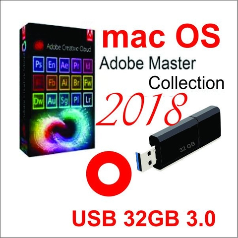 Bộ Adobe Master collection CC2018 Full  Mac OS