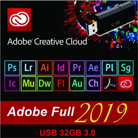 Bộ Adobe CC 2019 Master Collection (USB 32GB)