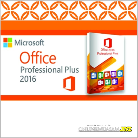 Bộ DVD OFFICE 2016 ALL