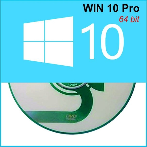 Bộ DVD Cài WIN 10 Pro 64 bit Activate & OFFICE