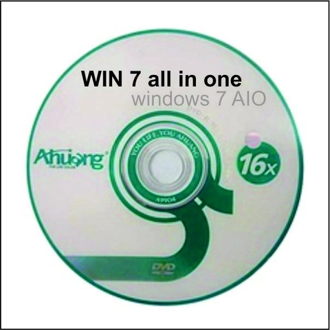 Bộ DVD Cài WIN 7 ALL IN ONE FULL DRIVER & OFFICE