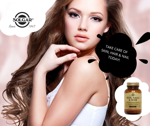 Solgar® Skin, Nails & Hair 40% off during '5 day sales shock'