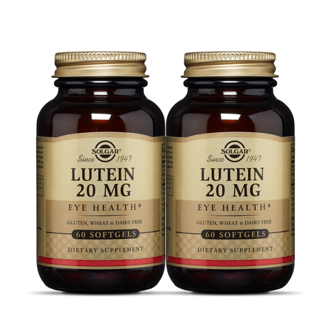COMBO Solgar® Lutein 20 mg 60 Softgels