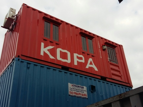 Container Văn Phòng 20Feet - ICVP004
