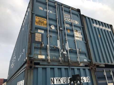 Container 40Feet HC NYKU 5654282