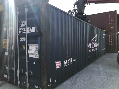 Container 40Feet HC NYKU 5644371