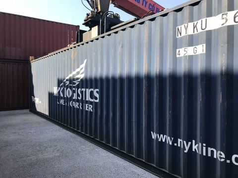 Container 40Feet HC NYKU 5637428