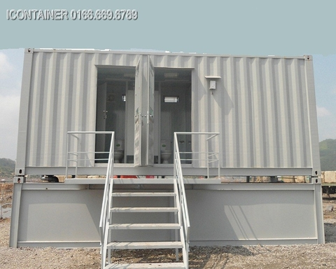 Container toilet 20Feet - ICVP015