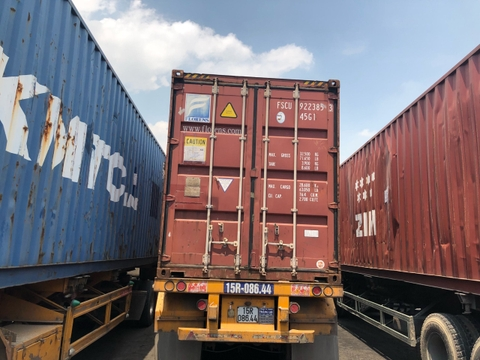 Container 40Feet DC FSCU 9223853