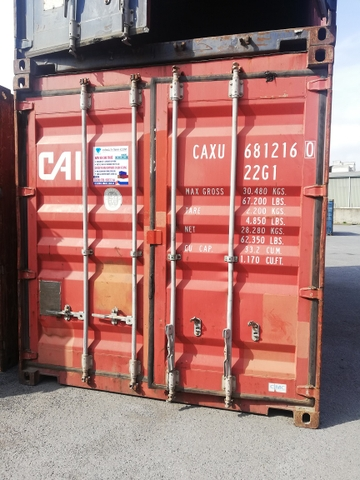 Container 20Feet CAXU 6812160
