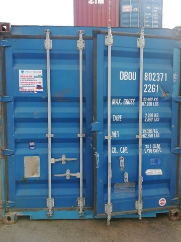 Container 20Feet DBOU 8023719