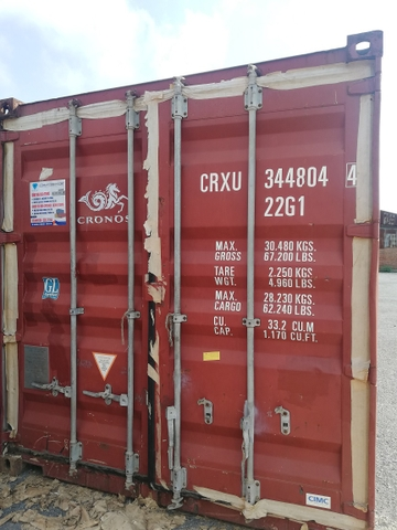 Container 20Feet CRXU 3448044