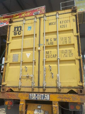 Container 40 feet WSCU 4713710