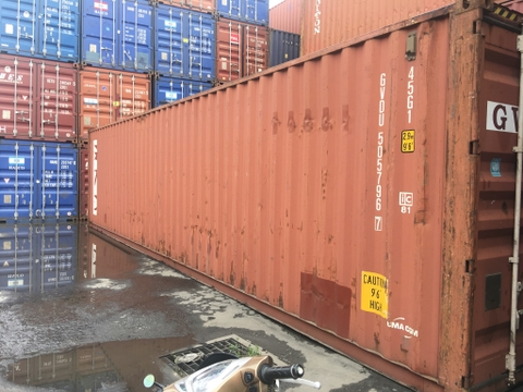 Container 40Feet HC GVDU 5057967