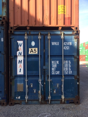 Container 40Feet DC WHLU 4214167