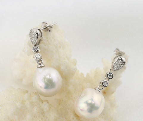 Nice baroque pearl Earrings