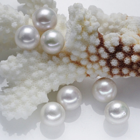 10mm round loose pearl