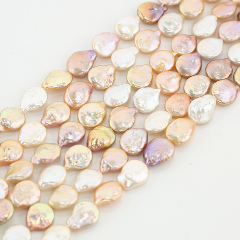 Coin pearl strand