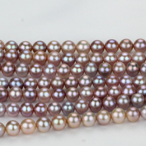 8mm purple pearl strand in Hanoi, Vietnam