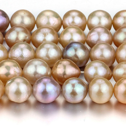 12-14 mm baroque pearl strand