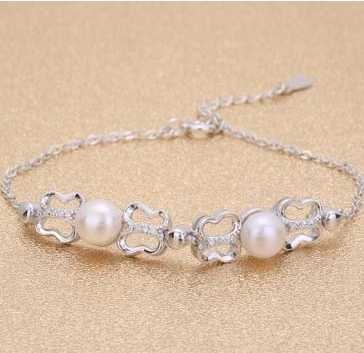 Two Pearl Bracelet