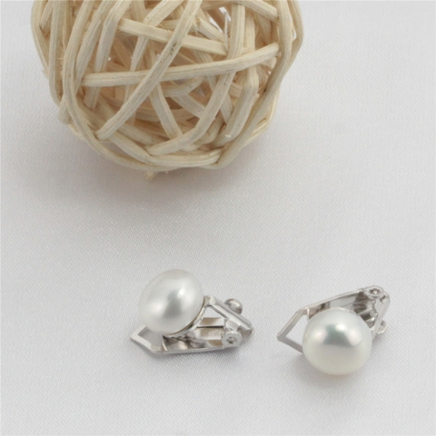 Clip Pearl Earrings