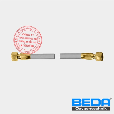 BEDA OXYGEN CONNECTING HOSE BETWEEN HOSE-REEL AND SUPPLY-LINE (ZF/ZM)