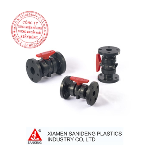 XIAMEN SANKING FLANGED TRUE UNION BALL VALVE