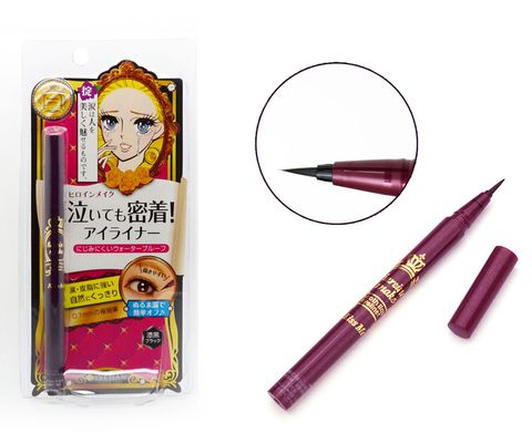 Kẻ mắt kissme heroine make smooth liquid eyeliner